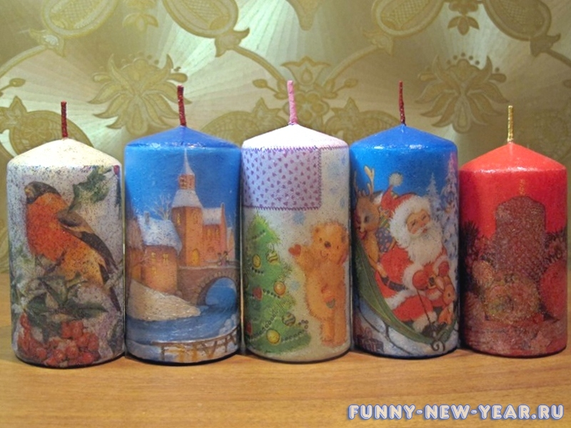 Новогодние поделки своими руками елочки из салфеток
