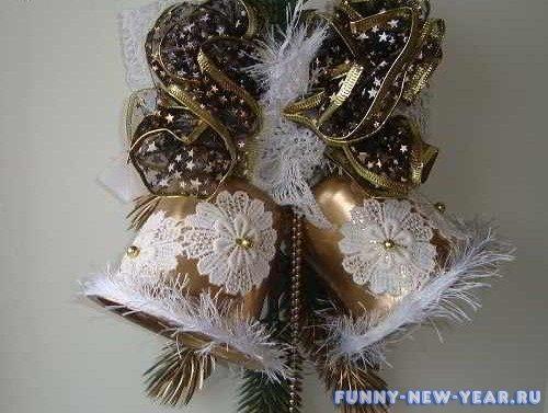 Поделки из бисера на новый год своими