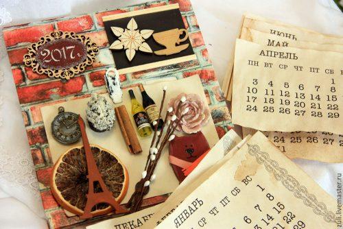календарь ручной работы