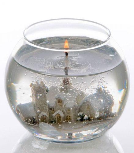 Свеча из геля