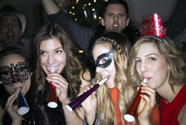 New Years corporate party