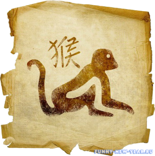 2016 год обезьяны