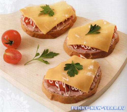 Простые холодные бутерброды рецепты с фото простые