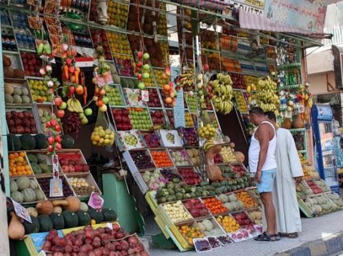 Покупка продуктов в Египте