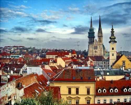 Путешествие в город Загреб