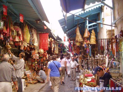 шопинг в Тунисе