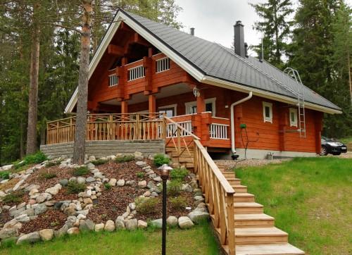 арендованный финский домик