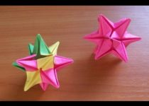 Поделки из оригами на Новый год 2018 своими руками - 49 фото идей и мастер классы