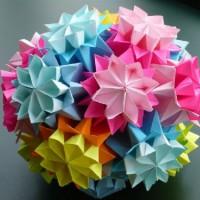 Поделки из оригами к Новому году 2017