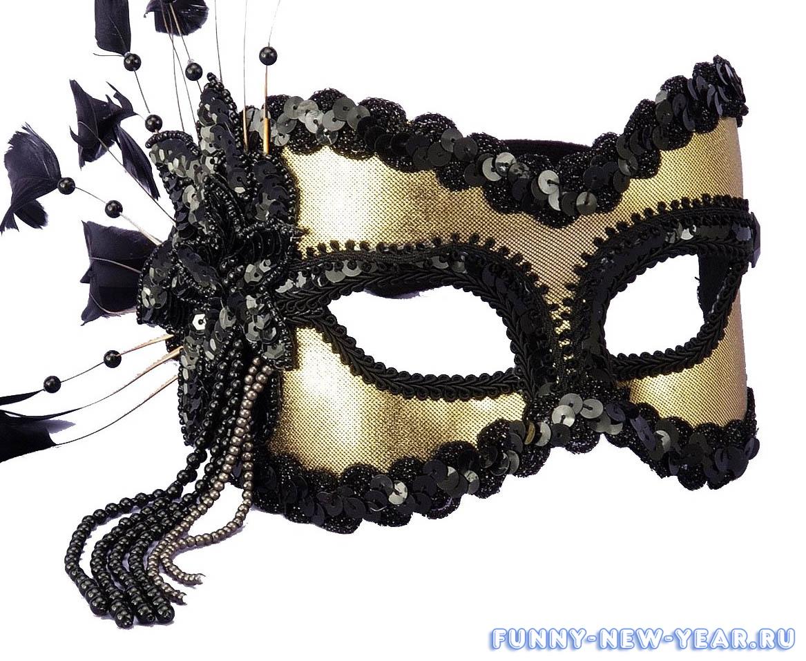 Как сделать своими руками новогоднюю маску фото