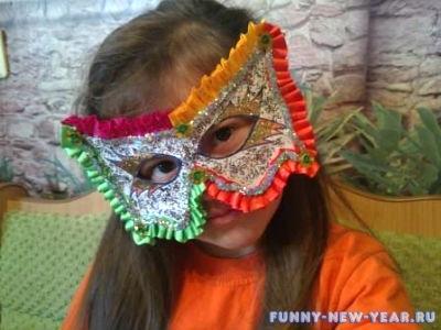 Маскарадные маски в детский сад