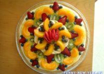 десерт из фруктов