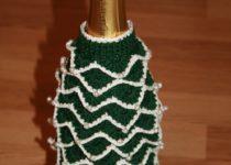 Украшаем бутылку шампанского своими руками