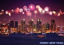 новый год в Калифорнии