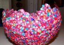 Шар из конфетти
