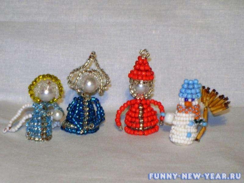 Новогодние идеи елочных игрушек своими руками