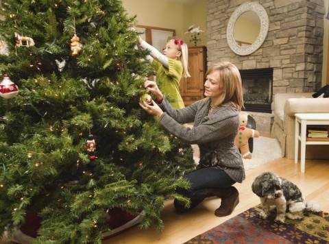 Как сделать новогоднее дерево 2017 своими руками