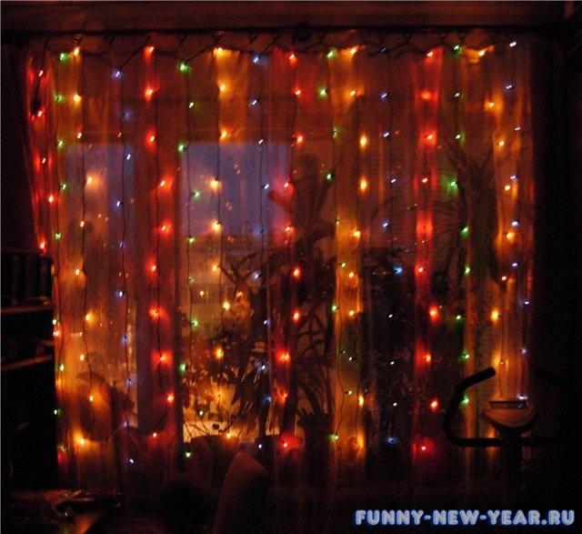 Как украсить комнату к новому году своими