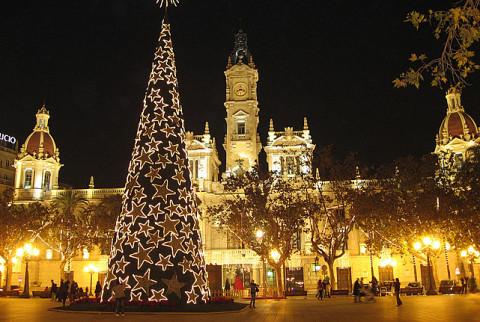 Испания зимой