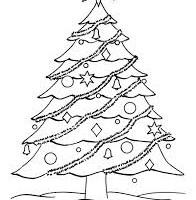 Новый год 2017, учимся рисовать елку поэтапно