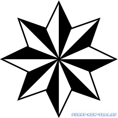 восьмиконечная звездавосьмиконечная звезда