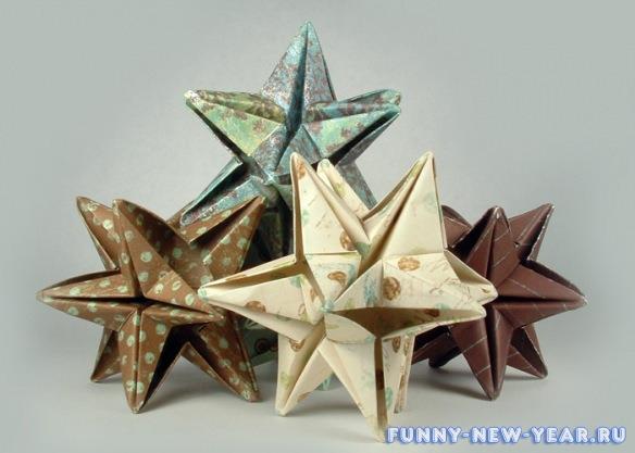 3d звезды на елку