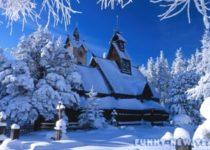 Польша зимой