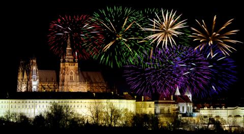 Прага на новый год