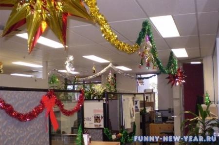 Новый год 2015 украшаем офис своими руками