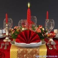 Что должно быть на столе в новогоднюю ночь