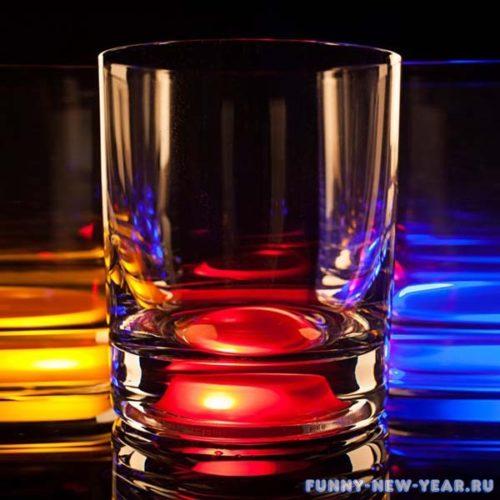 Светящийся бокал для виски