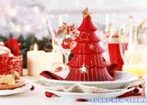 Как красиво украсить новогодний стол 2016 своими