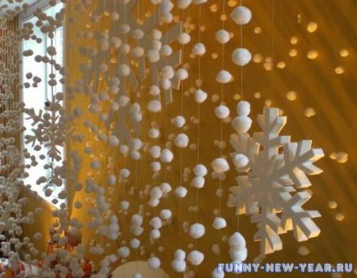 Красивые гирлянды своими руками на новый год