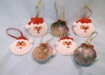 360694e51bf6629658bd150927e4026a-seashell-crafts-kids-seashell-ornaments-e1501260219878-210x150 Елочные игрушки своими руками: мастер класс, фото. Как сделать новогодние игрушки на елку для детского сада, на конкурс, для уличной и большой елки?