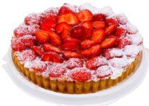 Абрикосово-клубничный торт