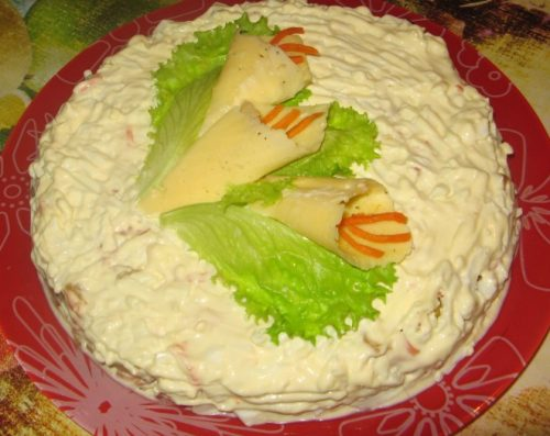 9 фото рецептов вкусных и простых салатов из курицы к Новому году 2020