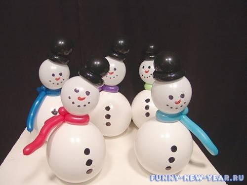 10 идей, как сделать снеговика к Новому году 2020