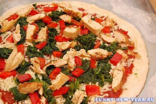 6 простых фото рецептов вкусной и аппетитной пиццы к Новому году 2020
