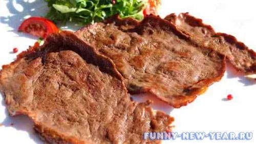 Отбивные нежные из говядины