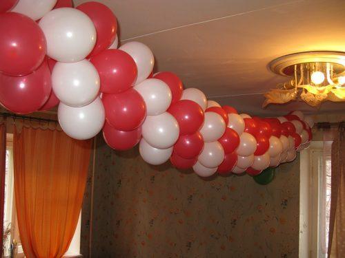 5 фото идей оригинальных поделок из воздушных шаров на Новый год 2020 своими руками