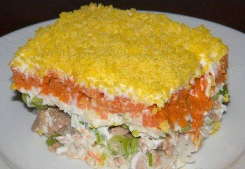 Готовим 7 разнообразных салатов из шпротов на Новый год 2020