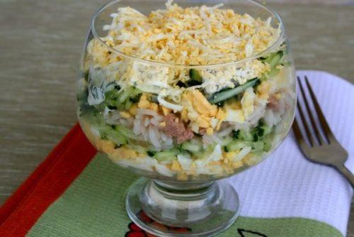 7 простых и вкусных рецептов салатов из печени трески к Новому году 2020