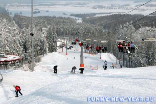 горнолыжные курорты белоруссии