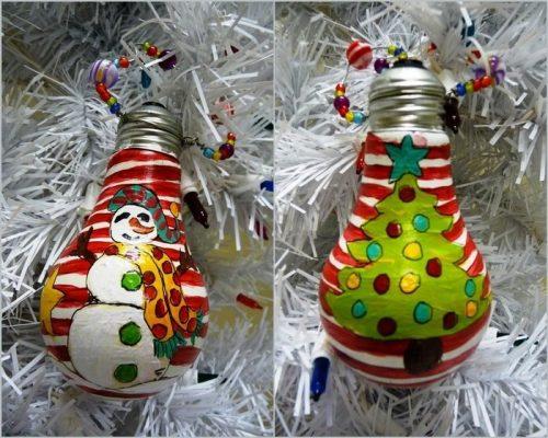 игрушки из лампочки