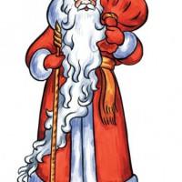 Учимся правильно рисовать Деда мороза