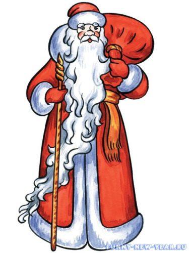 Рисунок Деда Мороза