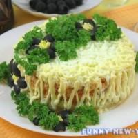 Готовим 7 отличных салатов из горбуши к Новому году 2018