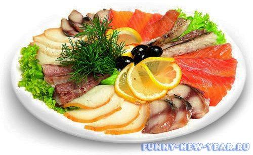 Рыбные нарезки