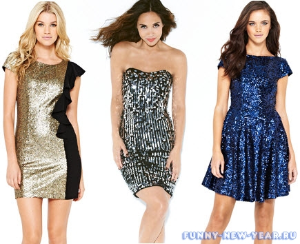 Sequin-dresses