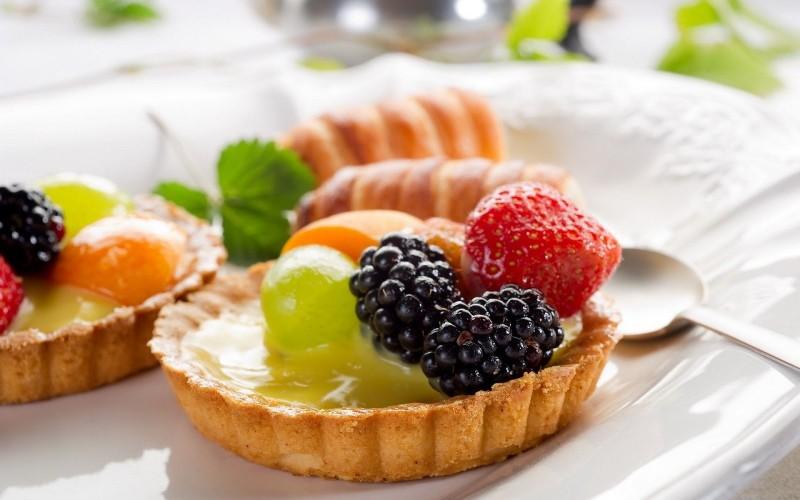 десерт из фруктов фото